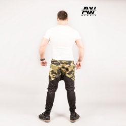 Nebbia Sweatpants 117 - Bodybuilding Lange Broek Camo-2