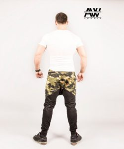 Nebbia Sweatpants 117 - Bodybuilding Lange Broek Camo-2