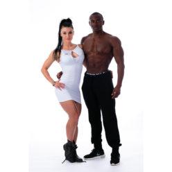 Fitness Dress Wit - Nebbia 217 Supplex 2