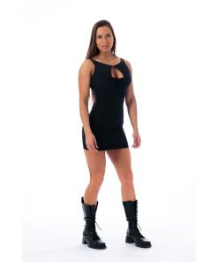 Fitness Dress Zwart - Nebbia 217 Supplex 1