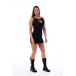 Fitness Dress Zwart - Nebbia 217 Supplex 1