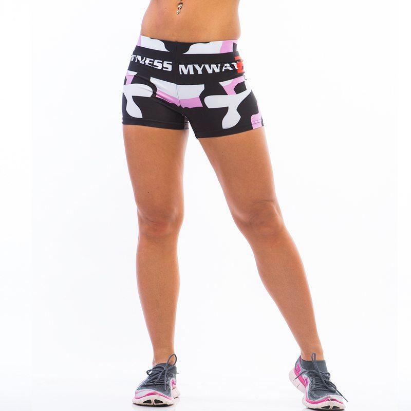 MyWay2Fitness Sportshorts - Camo-Roze
