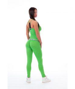 Singlet Groen Gemeleerd - Nebbia 224 2