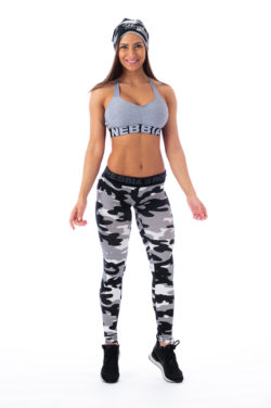 Sportlegging Camo Wit - Nebbia 203 1