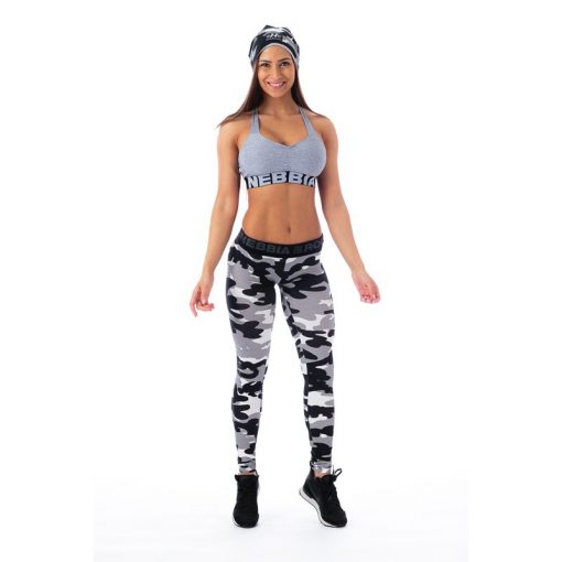 Sportlegging Camo Wit – Nebbia 203 1