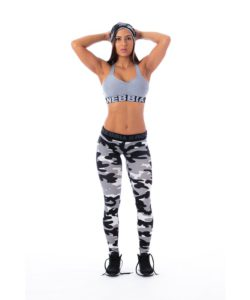 Sportlegging Camo Wit - Nebbia 203 2