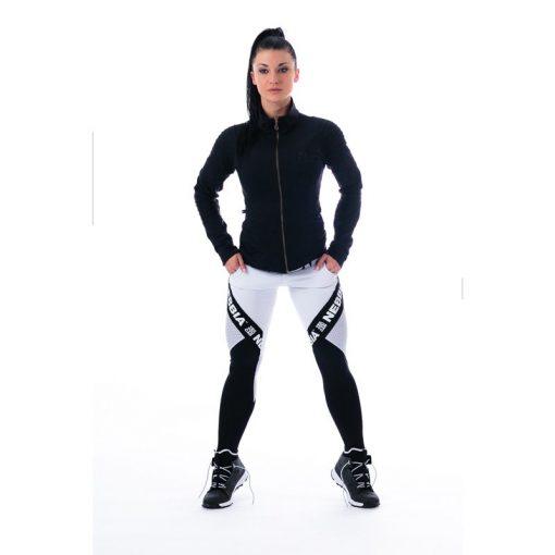 Sportlegging Combi Wit - Nebbia 214 1