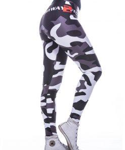 Sportlegging MyWay2Fitness - Camouflage Blackbird-2