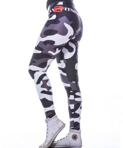 Sportlegging MyWay2Fitness - Camouflage Blackbird-4