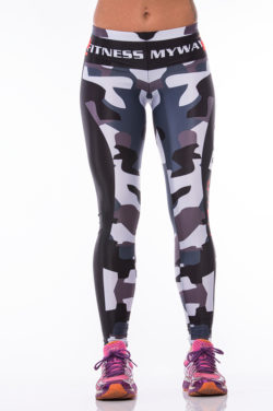 Sportlegging MyWay2Fitness - Earn Your Body Camo-1