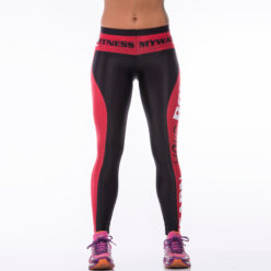 Sportlegging MyWay2Fitness - Earn Your Body Rood-1