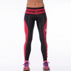 Sportlegging MyWay2Fitness - Earn Your Body Rood-1