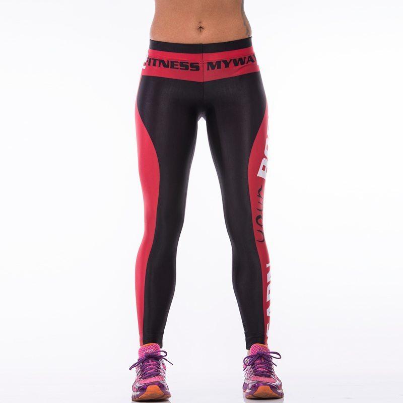 Sportlegging Rood.Sportlegging Myway2fitness Earn Your Body Rood 1