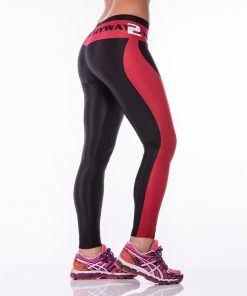 Sportlegging MyWay2Fitness - Earn Your Body Rood-3