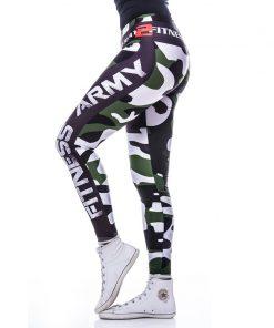 Sportlegging MyWay2Fitness - Fitness Army Groen-2