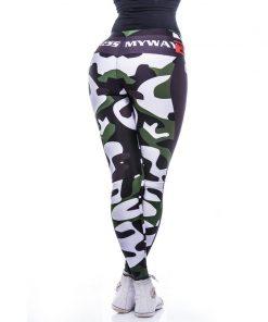 Sportlegging MyWay2Fitness - Fitness Army Groen-3