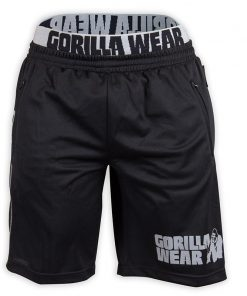 Gorilla Wear California Mesh Shorts Zwart-Grijs-1
