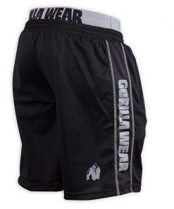 Gorilla Wear California Mesh Shorts Zwart-Grijs-2