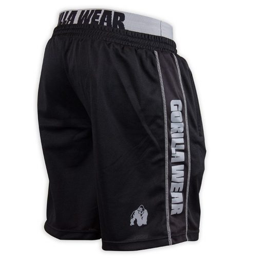 Gorilla Wear California Mesh Shorts Zwart-Grijs-2