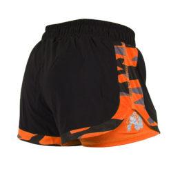 Gorilla Wear Denver Shorts Zwart-Oranje -2