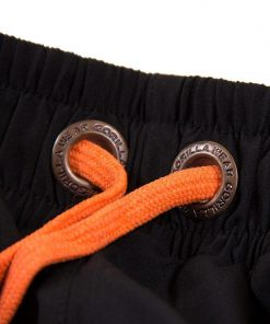 Gorilla Wear Denver Shorts Zwart-Oranje -3