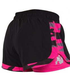 Gorilla Wear Denver Shorts Zwart-Roze -2