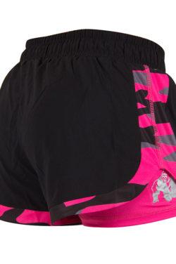Gorilla Wear Denver Shorts Zwart-Roze -2
