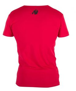 Gorilla Wear Essential V-Neck Rood-2