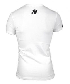 Gorilla Wear Essential V-Neck Wit-2