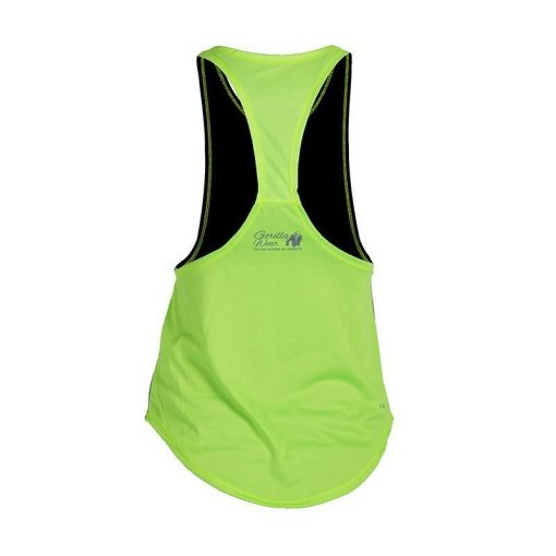 Gorilla Wear Florida Stringer Tank Top Zwart-Groen-2