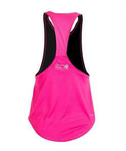 Gorilla Wear Florida Stringer Tank Top Zwart-Roze-2