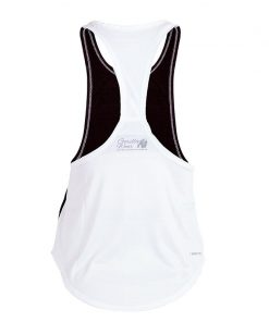 Gorilla Wear Florida Stringer Tank Top Zwart-Wit-2