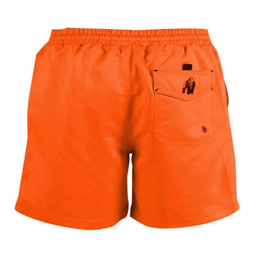 Gorilla Wear Miami Shorts Oranje-2