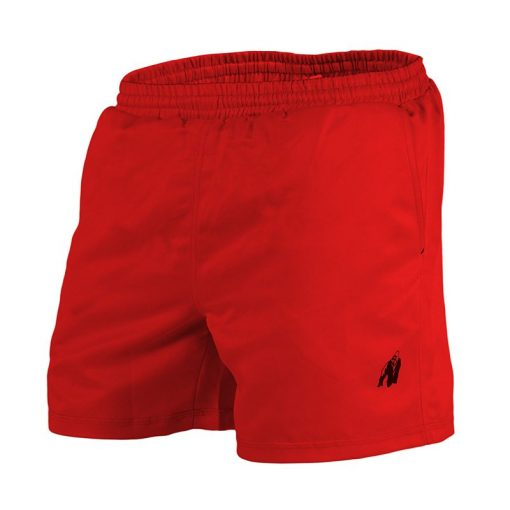 Gorilla Wear Miami Shorts Rood-1