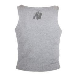 Gorilla Wear Oakland Crop Top Grijs-Oranje-2