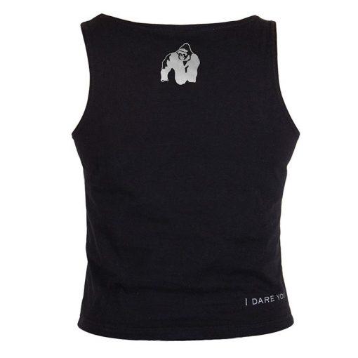 Gorilla Wear Oakland Crop Top Zwart-Roze-2