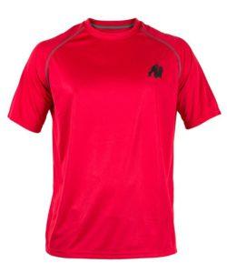Gorilla Wear Performance T-Shirt Rood-1