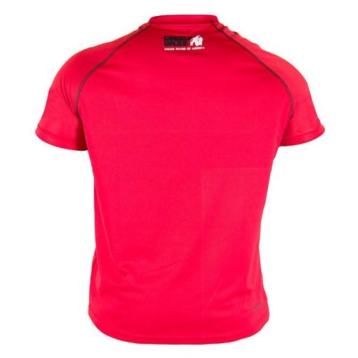 Gorilla Wear Performance T-Shirt Rood-2