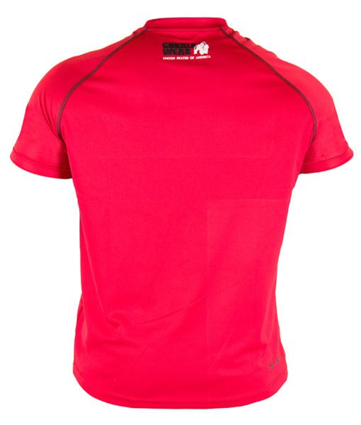 Gorilla Wear Performance T-Shirt Rood-2