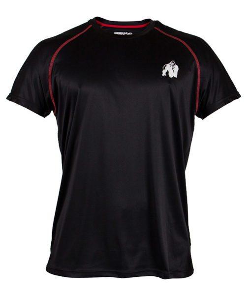 Gorilla Wear Performance T-Shirt Zwart-1