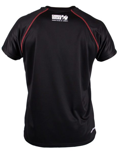Gorilla Wear Performance T-Shirt Zwart-2