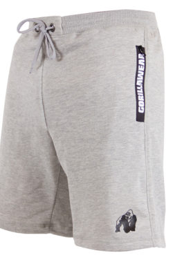Gorilla Wear Pittsburgh Sweat Shorts Grijs-2