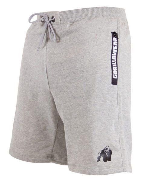 Gorilla Wear Pittsburgh Sweat Shorts Grijs-2
