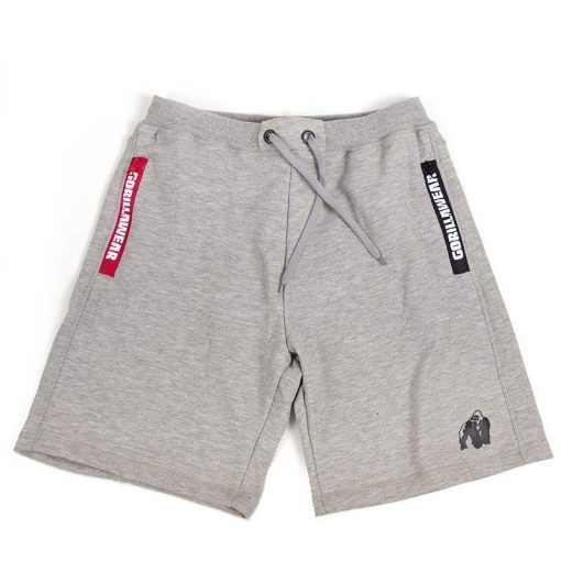 Gorilla Wear Pittsburgh Sweat Shorts Grijs-3