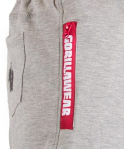 Gorilla Wear Pittsburgh Sweat Shorts Grijs-5