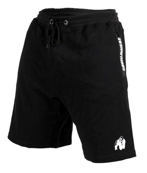 Gorilla Wear Pittsburgh Sweat Shorts Zwart-1