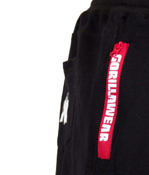 Gorilla Wear Pittsburgh Sweat Shorts Zwart-3