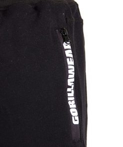Gorilla Wear Pittsburgh Sweat Shorts Zwart-4