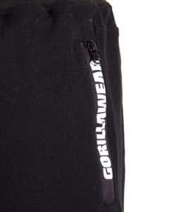 Gorilla Wear Pittsburgh Sweat Shorts Zwart-4