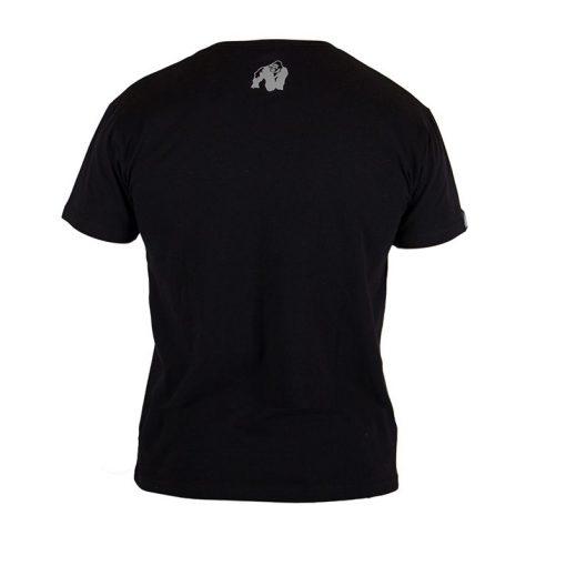 Gorilla Wear Sacramento V-Neck Zwart-Oranje-2